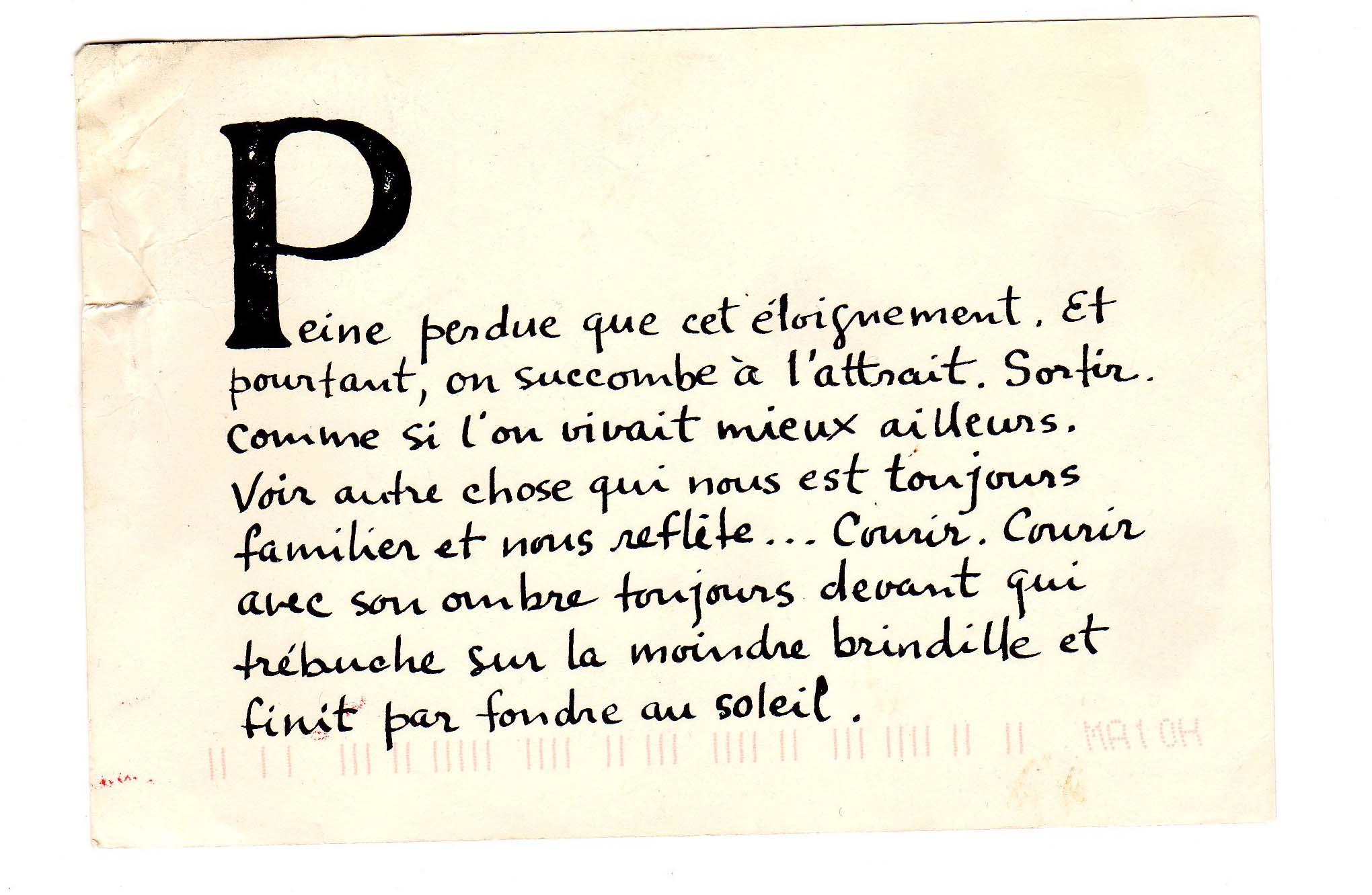 Abecedaire Du Voyage En 26 Cartes Postales Recit Nomade